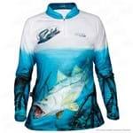 Camisa de Pesca Jogá Feminina Robalo Proteção Uv EXG