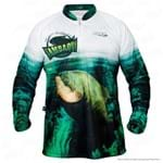 Camisa de Pesca Jogá Tambaqui Proteção Uv GG
