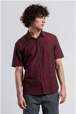 Camisa Elthor Xante Bordeaux G