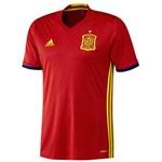 Camisa Espanha Adidas Home Eurocopa 2016