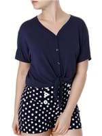 Camisa Feminina Autentique Azul