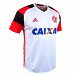 Camisa Flamengo Adidas Branca 2016/2017