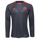 Camisa Flamengo Adidas Especial IV Manga Longa Olimpíadas - M