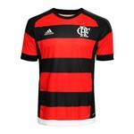 Camisa Flamengo Adidas I Rubro-Negra 2015 2016 Sem Patrocínio - GG