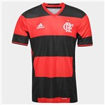 Camisa Flamengo Adidas I Rubro-Negra 2016 Authentic Jogador - G