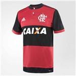 Camisa Flamengo I 2017 2018 Adidas Masculina - Preto e Vermelho - CZ2321