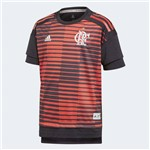 Camisa Flamengo Infantil Pré-Jogo Adidas 2018