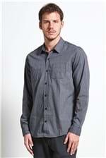 Camisa Flat Pocket Chumbo G