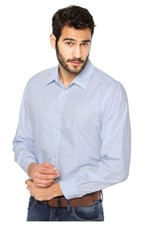 Camisa Forum Regular Azul Tam. 06