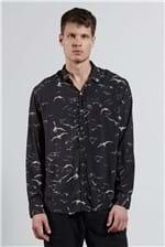 Camisa Garca Pattern Preto G