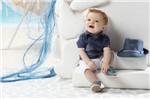 Camisa Infantil Grow Up Menino em Algodão Blue Denim