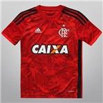 Camisa Infantil Juvenil Flamengo Adidas Flamengueira III 2014 2015