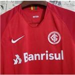 Camisa Internacional I Oficial Vermelha Torcedor 2018/19 Tamanho G Original