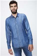 Camisa Jeans Básica Masculina