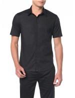 Camisa M/C Slim Geneva Vista Simples - 3