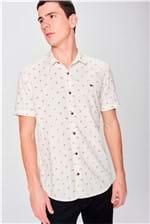 Camisa Manga Curta Estampada Masculina