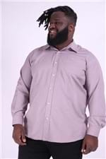 Camisa Maquinetado Plus Size Rosa 7