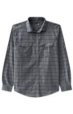 Camisa Masculina Adulto Enfim Cinza - GG