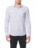 Camisa ML CKJ Estampa Flower Mini - P