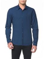 Camisa ML CKJ Masc Indigo - P