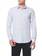Camisa ML Regular Chambray Monte Carlo - 1