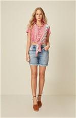 Camisa Mullet Feminina Adulto Enfim Rosa - PP