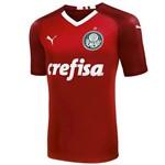 Camisa Palmeiras Modelo 2019 Vermelha Puma