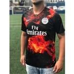 Camisa Paris Saint Germain Psg Edição Limitada Preto Original Torcedor 2019 Tamanho G Original