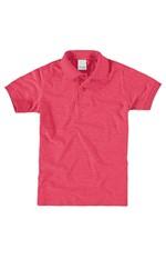 Camisa Polo Infantil Malwee Kids Rosa - 14