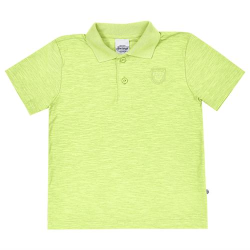 Camisa Polo Juvenil Abrange Verde 12