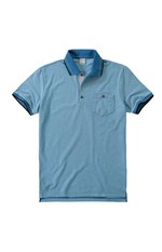 Camisa Polo Tradicional com Bolso Malwee Azul Claro - G
