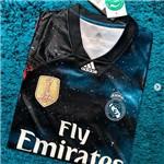Camisa Real Madrid Edição Limitada Oficial Torcedor Preto/azul 2018/19 Tamanho P Original