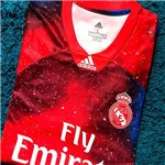 Camisa Real Madrid Edição Limitada Oficial Torcedor Vermelho 2018/19 Tamanho P Original
