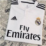 Camisa Real Madrid Oficial Branca Torcedor 2018/19 Tamanho M Original