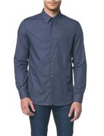 Camisa Regular Geneva Xadrez Exclusivo - Marinho - 1