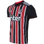 Camisa São Paulo Ii Oficial Preta Torcedor 2018/19 Tamanho M Original