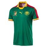 Camisa Seleção Camarões Home S/Nº Torcedor - Puma - Verde