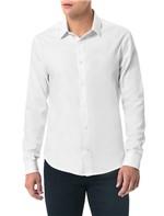 Camisa Slim Calvin Klein Branco - 4
