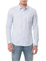 Camisa Slim Xadrez Pontinhos Geneva - 1