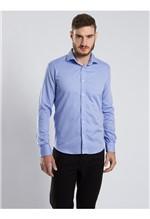 Camisa Social Azul-42