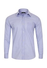 Camisa Social Classic Lilás 2