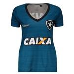 Camisa Topper Botafogo Treino Atleta 2017 Feminina