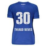 Camisa Umbro Cruzeiro I 2018 Feminina 30 Thiago Neves