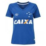 Camisa Umbro Feminina Cruzeiro Oficial 1 2018
