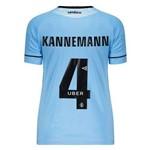 Camisa Umbro Grêmio II 2018 4 Kannemann Feminina Charrua