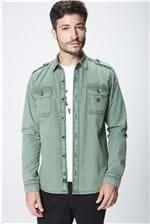Camisa Verde Masculina