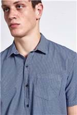 Camisa Xadrez Grow Azul G