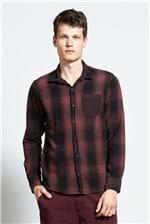 Camisa Xadrez Jinn Bordeaux G
