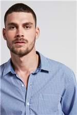 Camisa Xadrez Le Mer Azul G