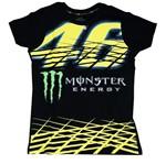 Camiseta 46 Monster Tam. M Preta